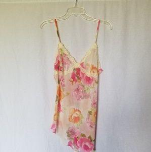 Victoria's secret lingerie floral slip nightgown
